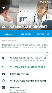 WebClinic app- screenshot thumbnail