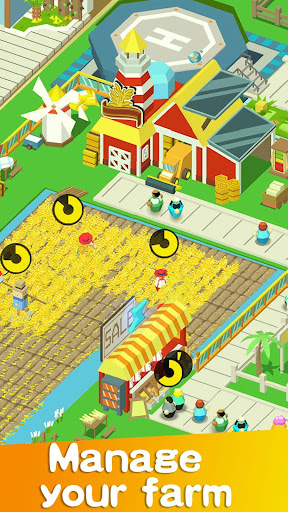Idle Farm Tycoon - Cash Empire modavailable screenshots 1