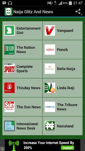 NAIJA GLITZ AND NEWS|玩新聞App免費|玩APPs
