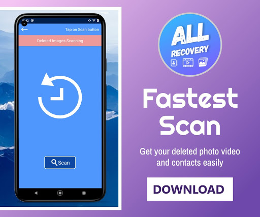 All Recovery : Photo Video & Contacts cheat hacks