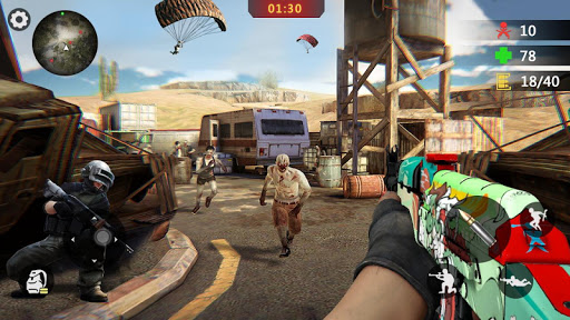 Zombie Survival 3D: Fun Free Offline Shooting Game  screenshots 5