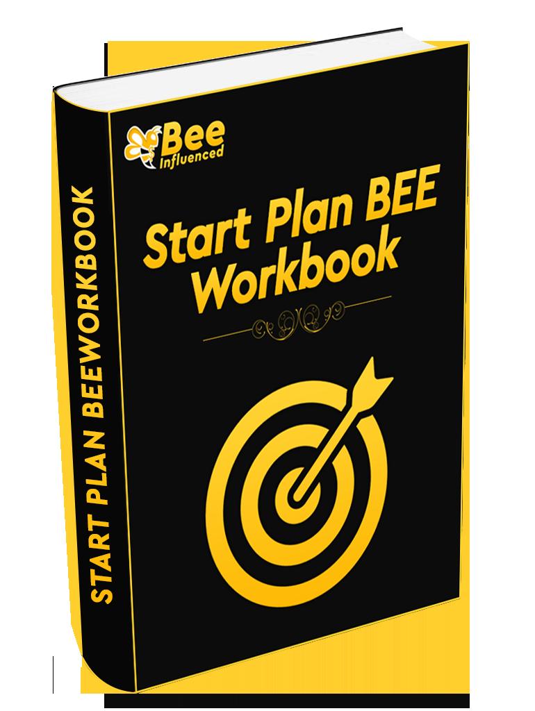 Need help business startup planning? Start Plan Bee WorkBook