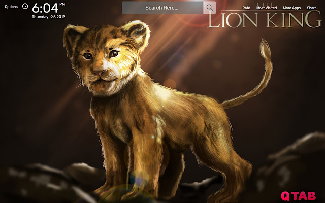 The Lion King Hd Wallpapers New Tab