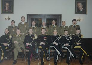 Photo: 15 Nov 1989 Layon, Vandevoorde, Rapaille, Van De Velde, Bruyninckx, Soetaer, Clarisse. Dewachter, Thomas, Leonet, Schoups, Andrin, Staes , Morozowski