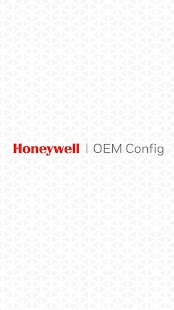 Honeywell OEM config Screenshot