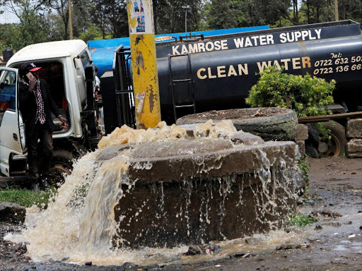 Government to spend Sh18 billion on sewer infrastructure in Nairobi - The Star, Kenya