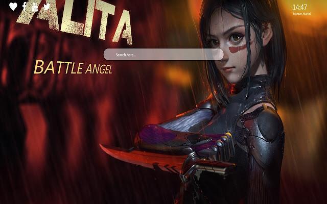 Alita Battle Angel Wallpaper New Tab