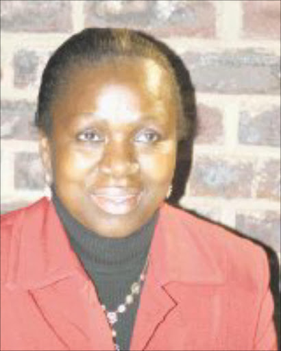 TERRIFIED: Gloria Mashaba. 04/05/08. © Sowetan.