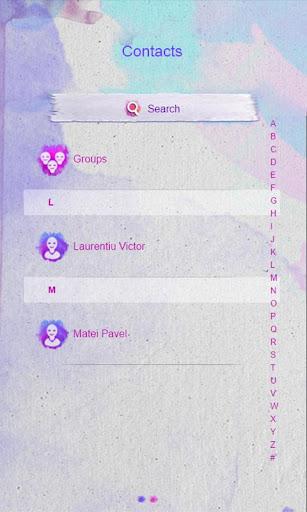 Watercolors GO SMS|玩個人化App免費|玩APPs