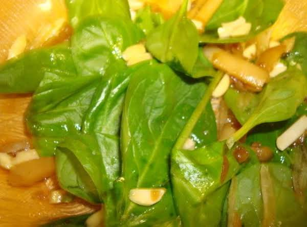 Chinese Spinach Salad