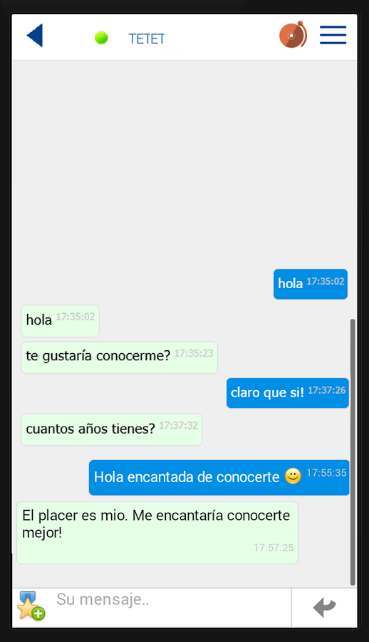 QueContactos Dating in Spanish- screenshot