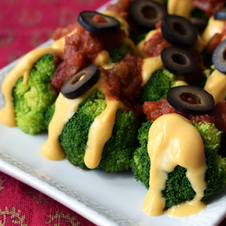 "Easy Cheesy Broccoli ""Nachos"" Recipe"