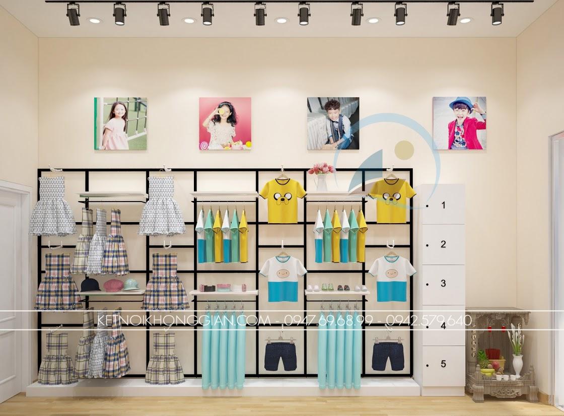 thiết kế shop thời trang độc đáo