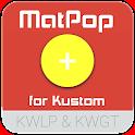 MatPop for Kustom KLWP/KWGT