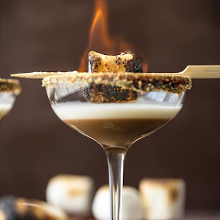 Toasted S'more Martini.