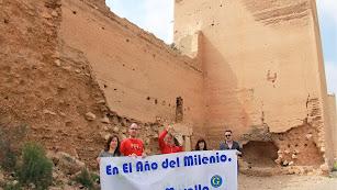 Amigos de la Alcazaba califica como ruinoso el estado de la muralla.