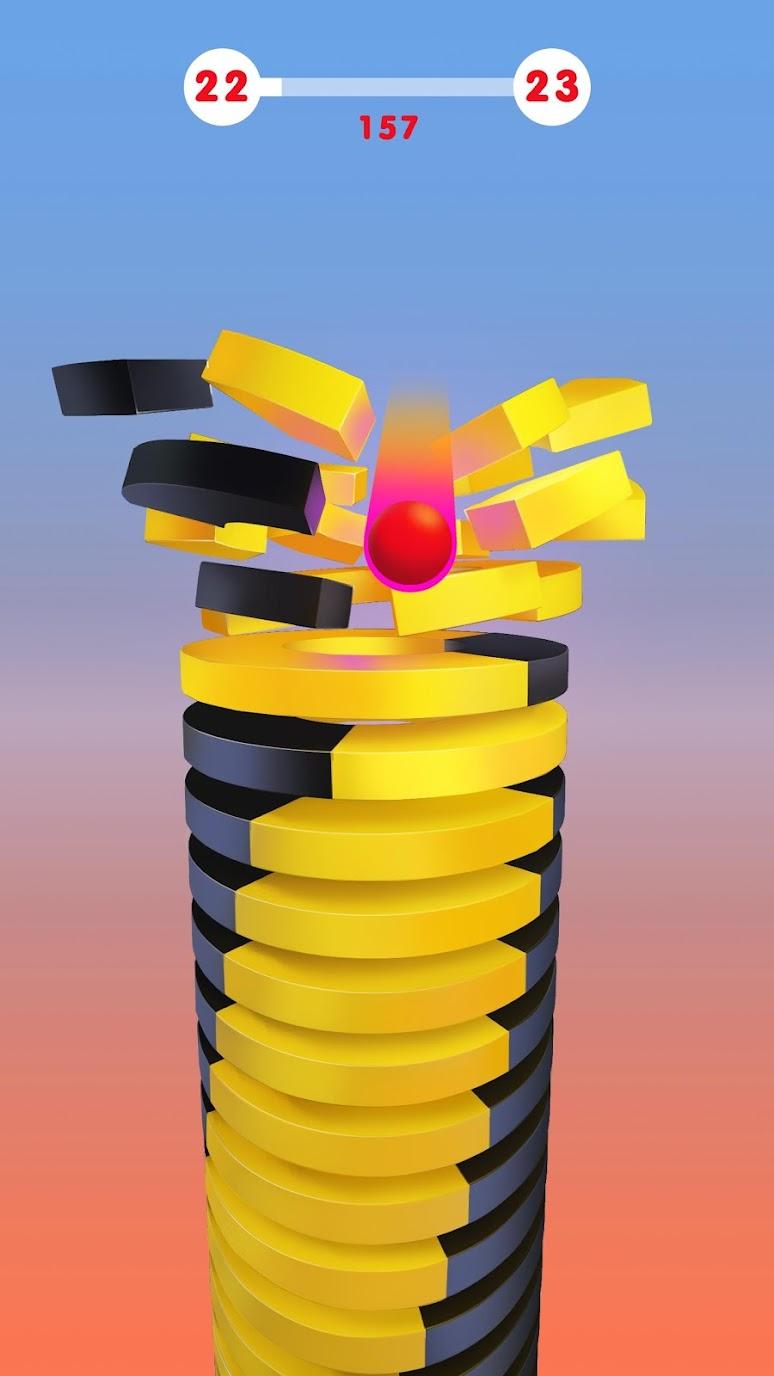 Stack Ball – Blast Through Platforms (MOD, Unlocked) 3