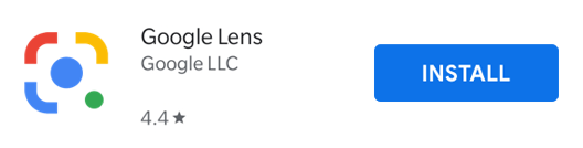 Install the Google Lens App.