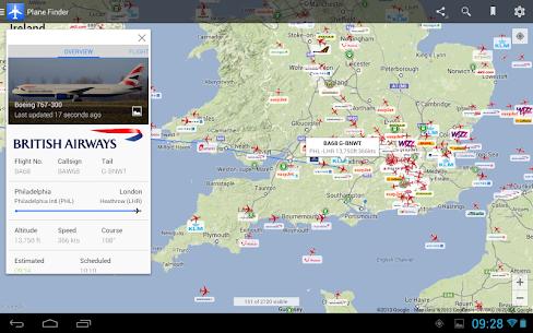 Plane Finder – Flight Tracker 10