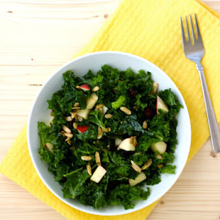 Tuscan Kale and Apple Salad + Natural Pregnancy Cookbook Review