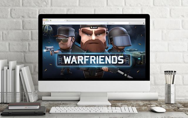 Game Theme: WARFRIENDS