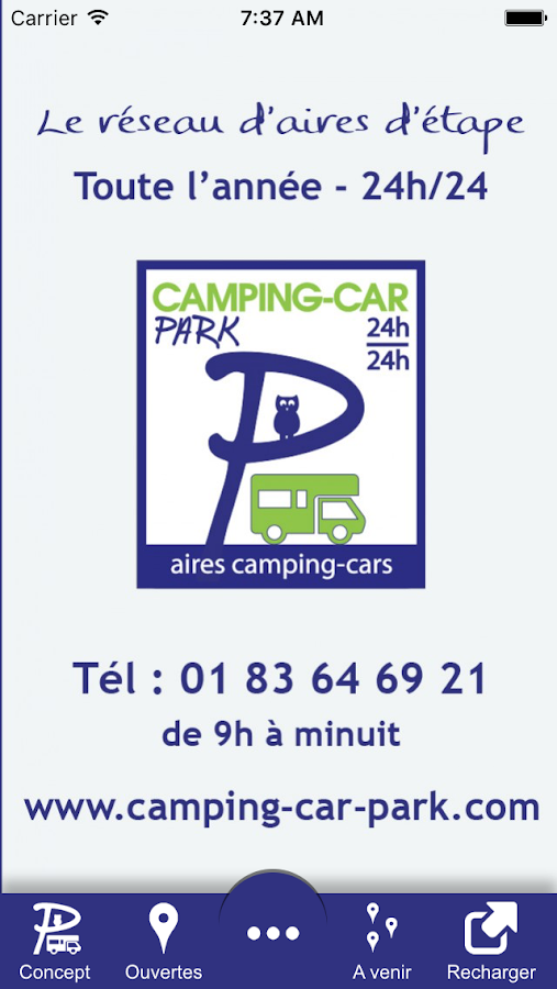 CAMPING-CAR-PARK- screenshot