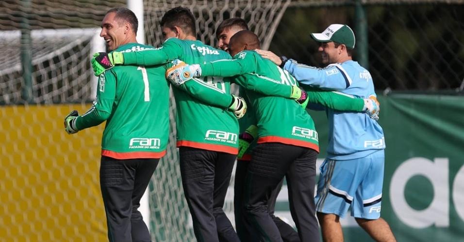 Goleiros do Palmeiras 2016