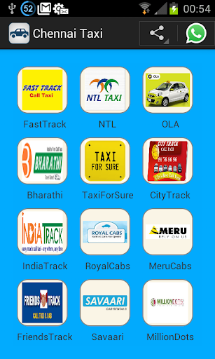 Chennai Taxi-Call Taxi Numbers
