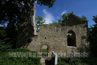 """Photo: Ruine der Kirche """"Maria Magdalena und Jakobus"""" bei Alsheim"""