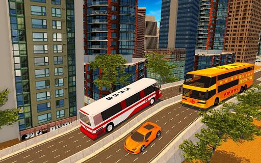 Télécharger Gratuit Moderne Ville Autobus Conduite Jeu Simulation 2018 APK MOD (Astuce) screenshots 5