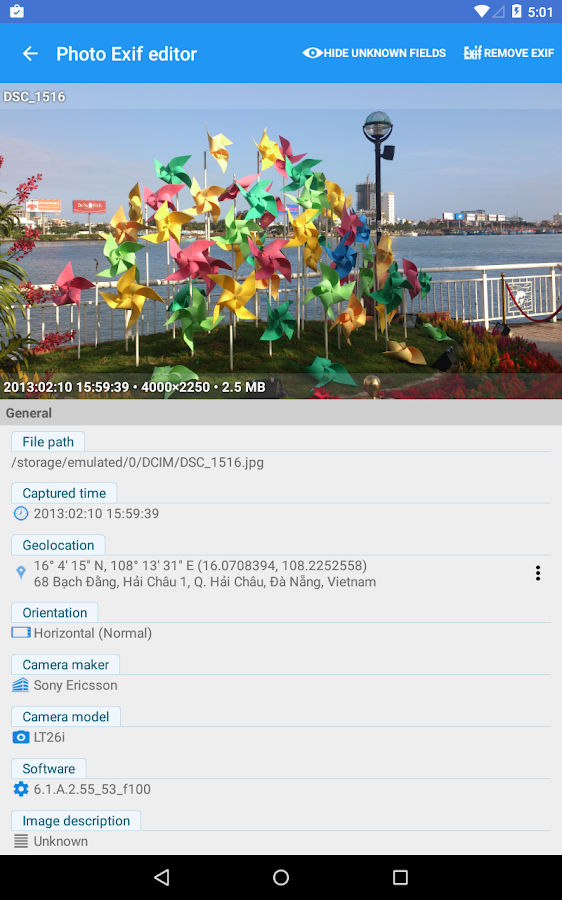Photo Exif Editor - Metadata Editor- screenshot