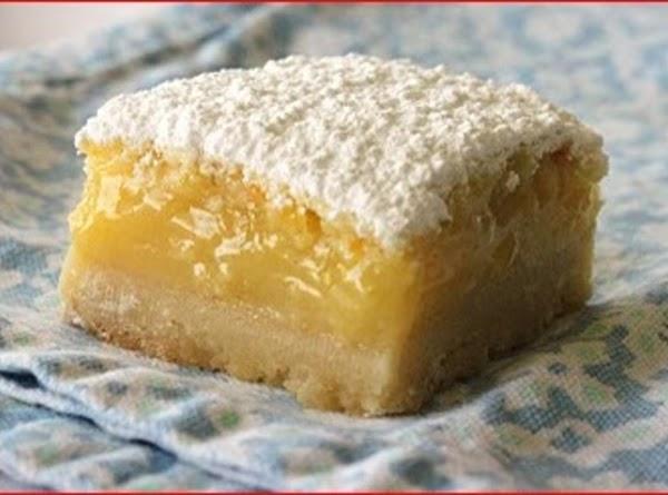 Meyer Lemon Lime Bars Recipe