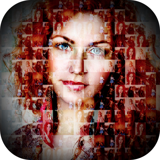 Mosaic Photo Collage Effect