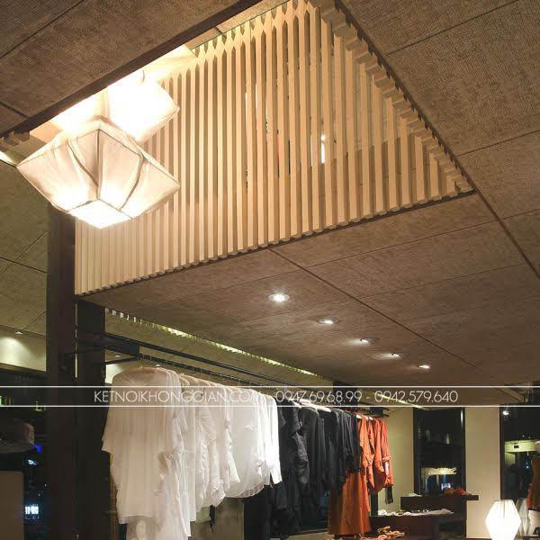 thiết kế shop thời trang indo