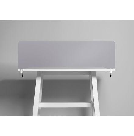 Bordsskärm Edge 2000x400 grå