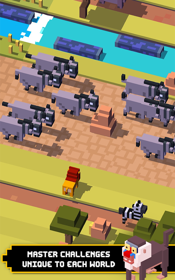 how to get the missing characters in crossy road