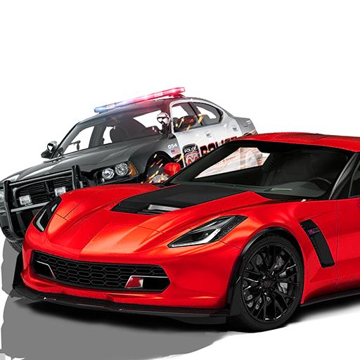 Modern Police Street Racer Squad