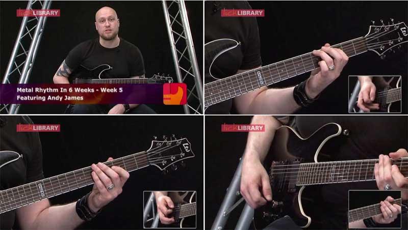 Andy James Metal Rhythm Guitar In 6 Weeks