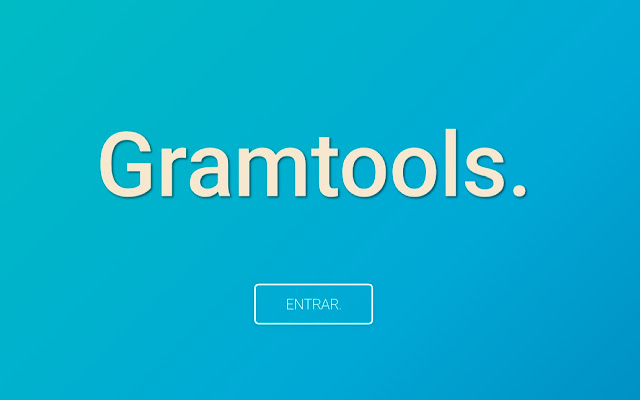 Login Gramtools.app