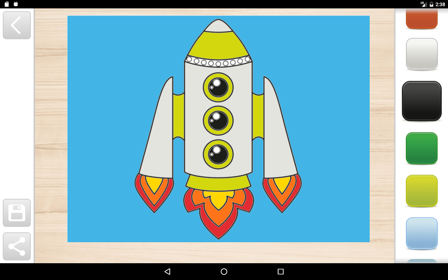 kids coloring book and game android apps on google play