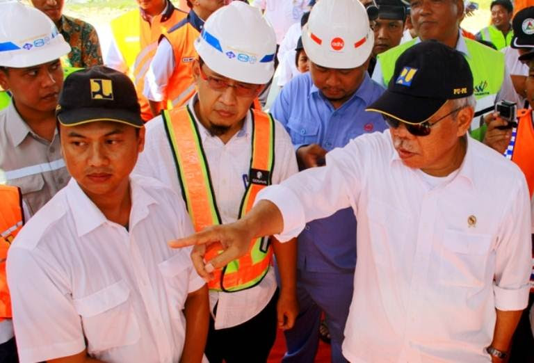 Menteri PUPR datang ke Tol Ngawi-Solo