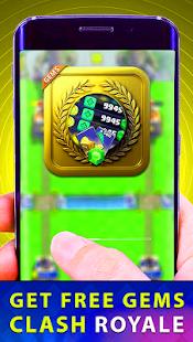 Gems Chest Coins For Clash Royale Prank - náhled