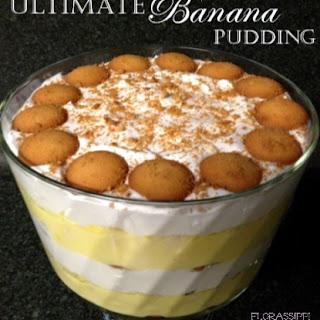 Ultimate Banana Pudding.