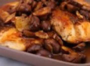 South Beach Balsamic Chicken and Mushrooms