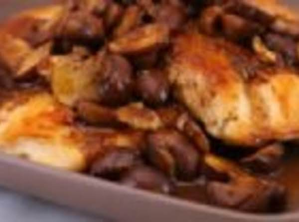 South Beach Balsamic Chicken And Mushrooms Recipe