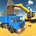 Mega City Construction 2017: Big Machines icon