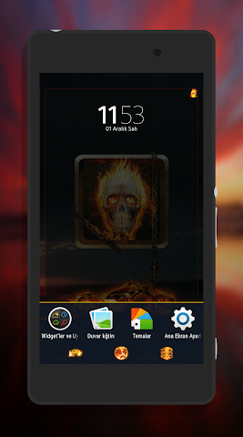 android Fever XpeRian Theme Screenshot 3