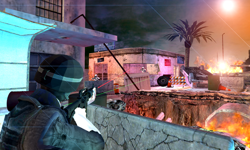 Army Commando Assault- screenshot