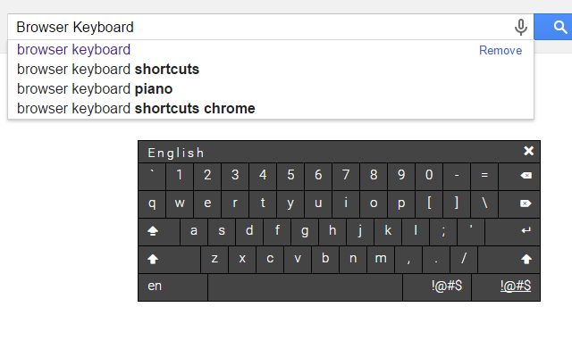 Browser Keyboard (Perfect for kiosk)