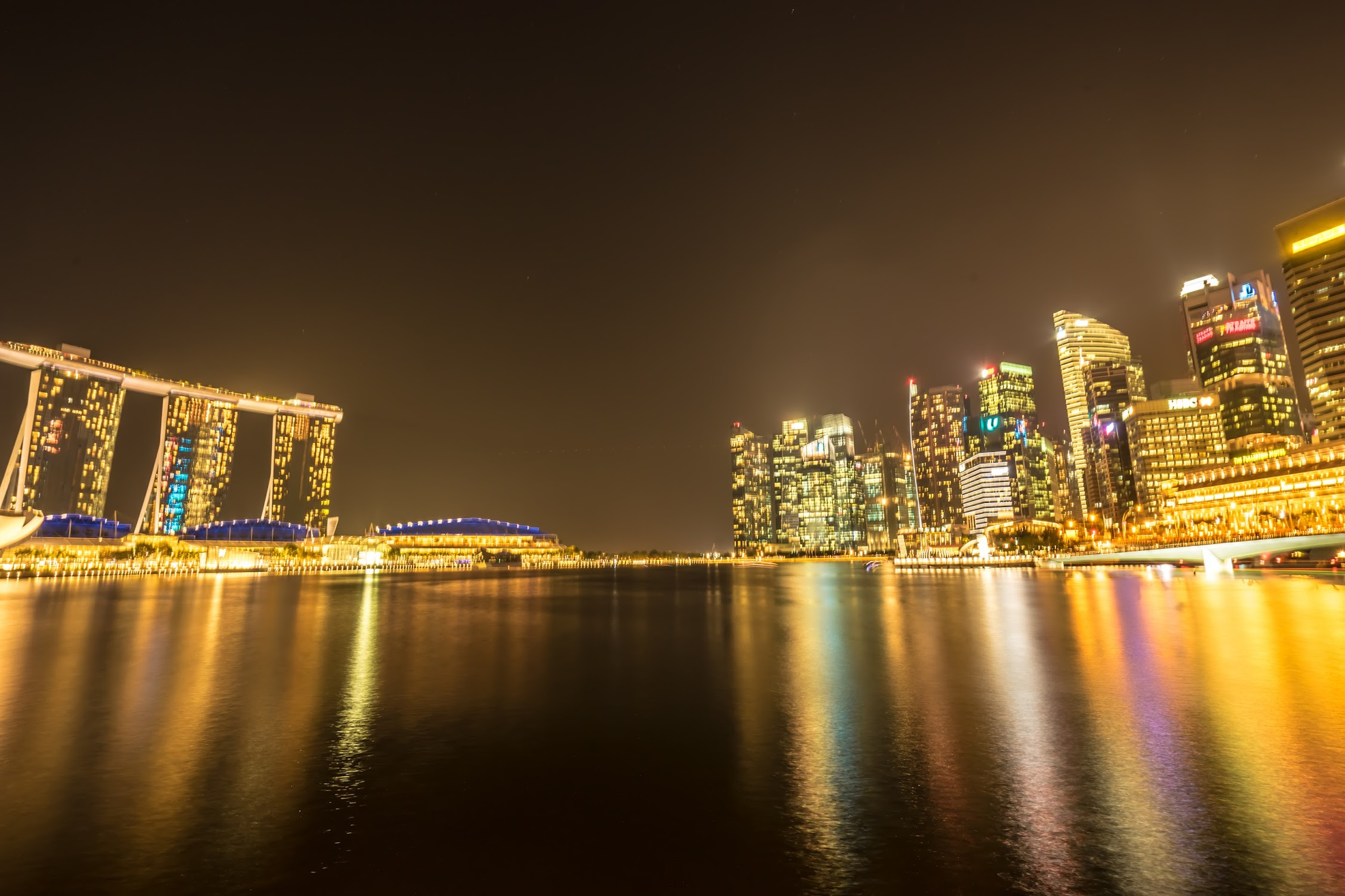 Singapore Marina Bay Sands night view5